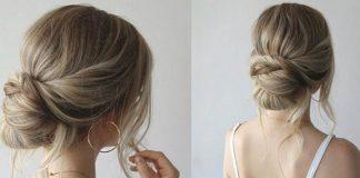 kiểu búi tóc thông dụng