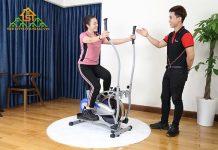 xe đạp thể dục toàn thân